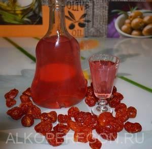 Кизиловая настойка - восточная сладость