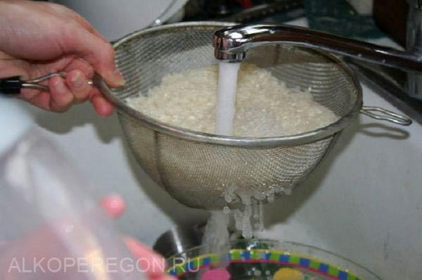 приготовление саке