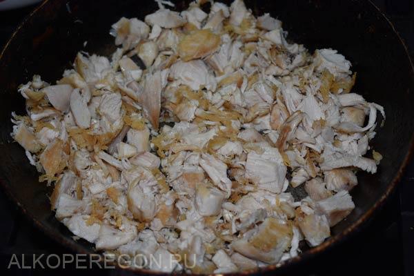 обжаривание курицы на масле