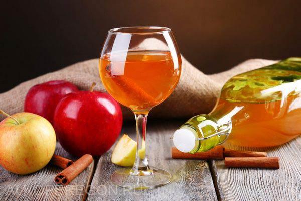 приготовление медового вина с яблоками
