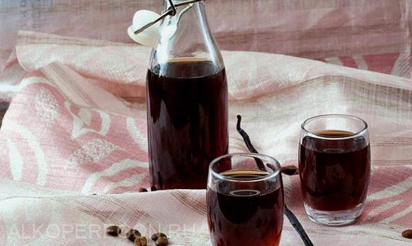 Настойка на калгане с кофе