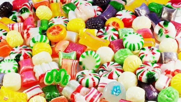 конфеты для браги