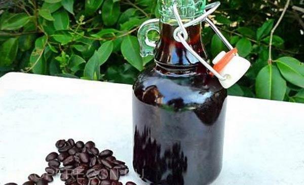 настойка на орехах и кофе с коньяком