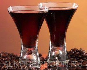 Рецепт настойки на кофе на водке (спирту, самогоне)