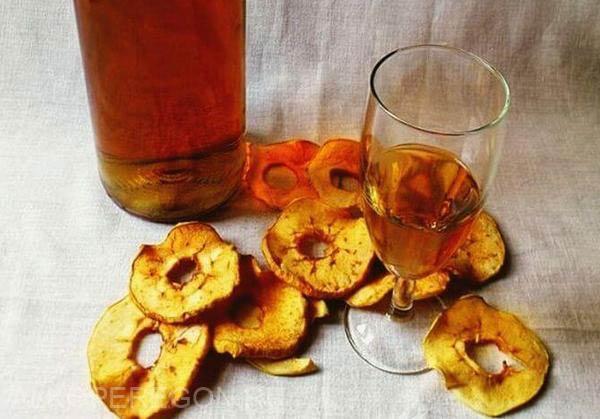 вино из сушеных яблок