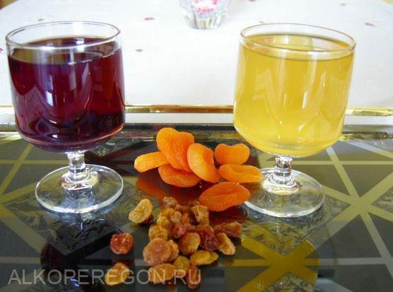 вино из сушеного абрикоса