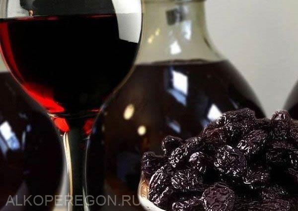 вино из сушеного чернослива