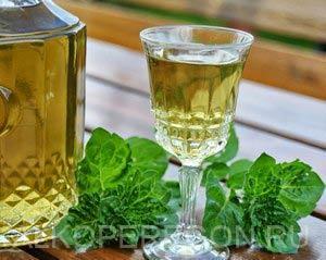 Рецепт приготовления мятной водки и настойки