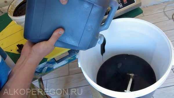 приготовление браги из мелассы