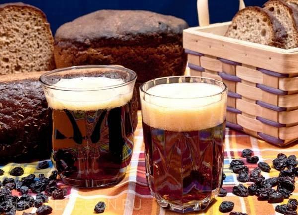 монастырский квас из солода