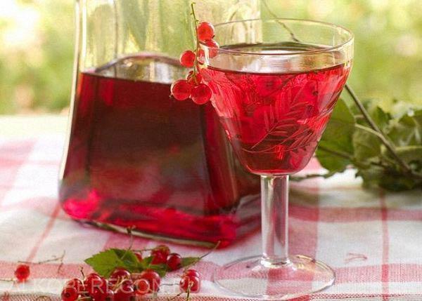 настойка на спирту из красной смородины