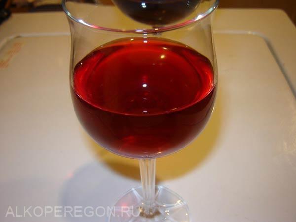 малиновое вино из сока