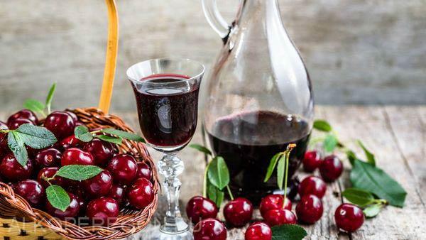 приготовление вишневого вина