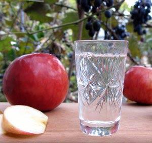чача из яблок