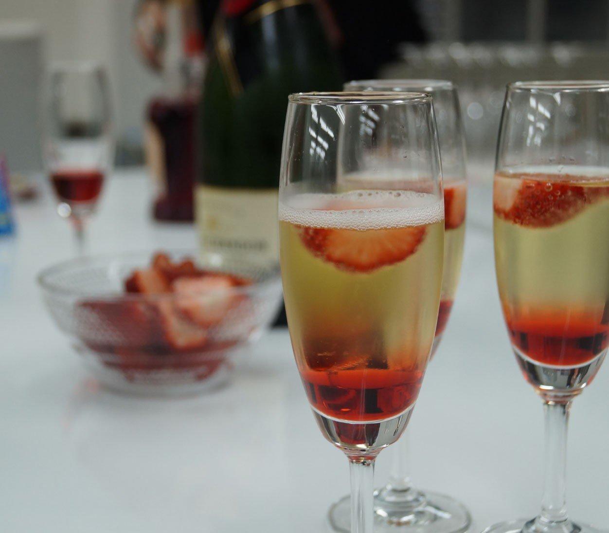 Ягодный коктейль с лимончелло