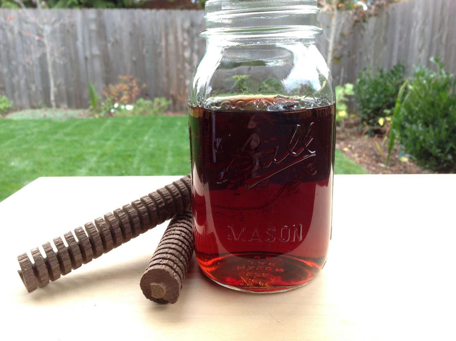 Напиток из виноградного самогона