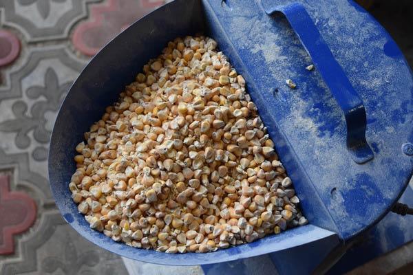 дробление кукурузы