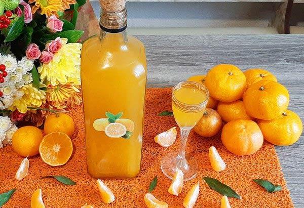 ликер на спирту из мандаринов