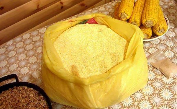 кукурузный самогон с солодом