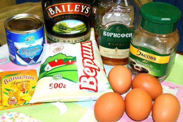 ингредиенты для ликера бейлиз