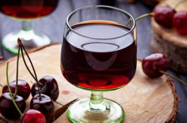 вишневая настойка рецепт приготовления