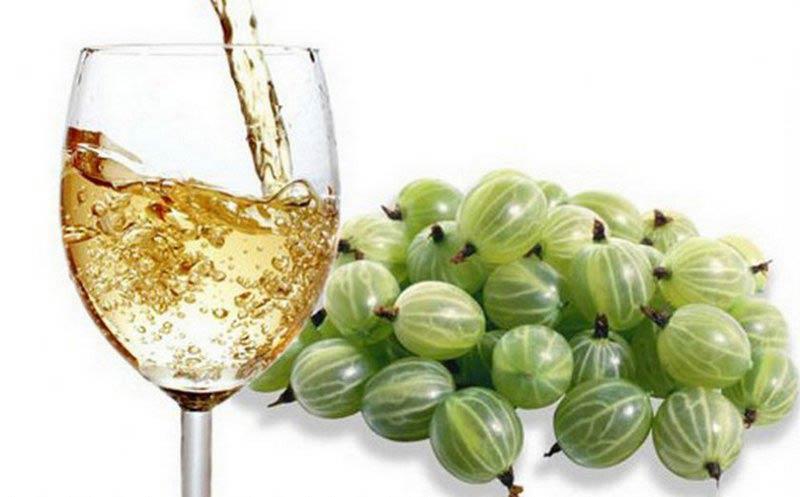 вино из крыжовника и яблок
