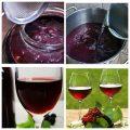 Вино из варенья