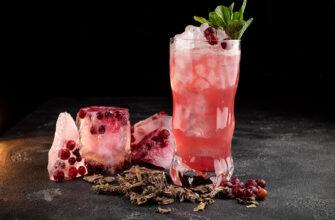 коктейль киви виноград